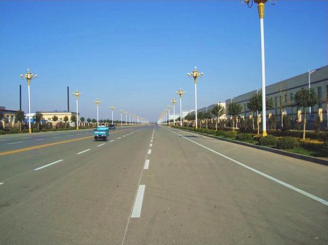 2005年海南迎宾大道路改工程海南迎宾大道