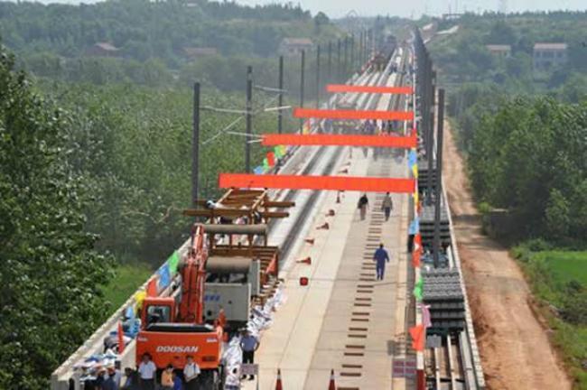 2007年国家重点工程武广客运专线