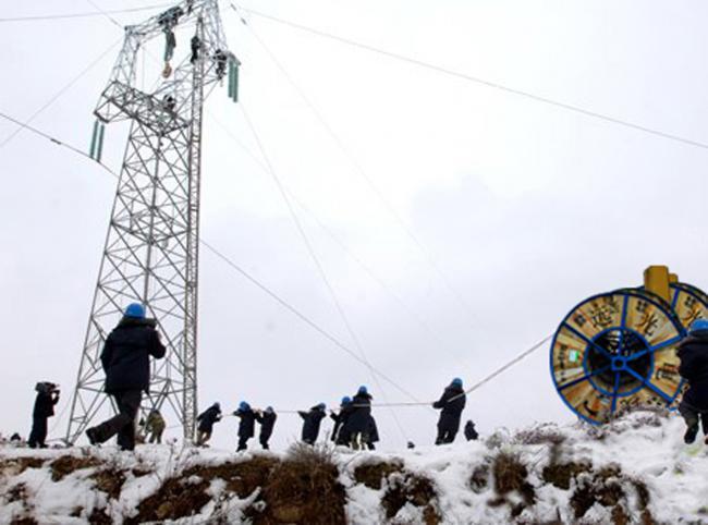 2008年国家重点项目抗冰救灾